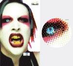 Marlyn Manson - ciano: Gene Simons, magenta: Ozzy Osbourne, amarelo: Robert Smith (The Cure), preto: Cher