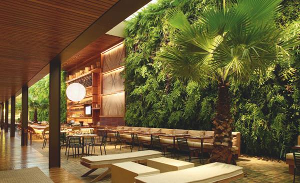 Referans sexta inspirada restaurantes arquivo for Green hotel design