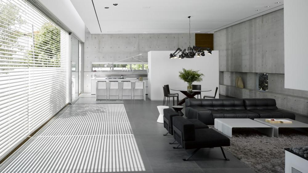 Referans Casa Moderna Em Tel Aviv Arquivo