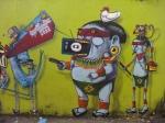 Exposição Tribos | Grafiteiro Cranio
