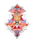 A arte geométrica de Lauren Bahr
