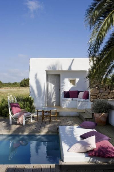 Casa na ilha formentera referans for Sofa exterior de obra