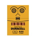 Embalagens divertidas da Duracell